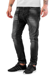 JUST RHYSE Yashar Antifit Jeans Black auf oboy.de