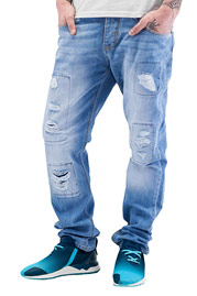 JUST RHYSE Chuck Straight Fit Jeans Ice Blue auf oboy.de