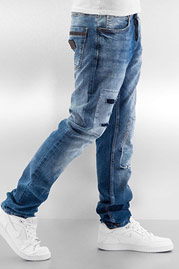 JUST RHYSE Sjard Straight Fit Jeans Light Blue auf oboy.de