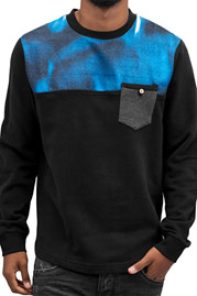 JUST RHYSE Nightlights Sweatshirt Black auf oboy.de