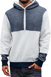 JUST RHYSE Donald Hoody Grey Chambray auf oboy.de