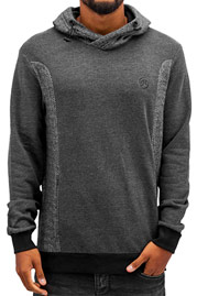 JUST RHYSE Jacob Hoody Black/Black Chambray auf oboy.de