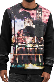 JUST RHYSE Pixel Sweatshirt Colored auf oboy.de