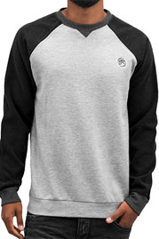 JUST RHYSE Raglan Sweatshirt Grey auf oboy.de