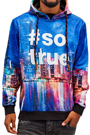 JUST RHYSE Skyline Hoody Colored auf oboy.de