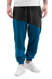 JUST RHYSE Life Sweatpants Grey/Blue auf oboy.de