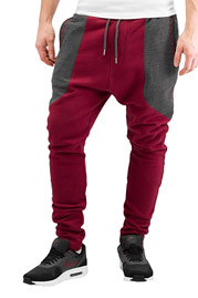 JUST RHYSE Ted Sweat Pants Red/A auf oboy.de