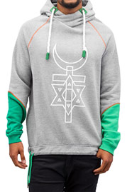 JUST RHYSE Tracy Hoody Grey Melange auf oboy.de
