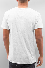 JUST RHYSE Linus T-Shirt White auf oboy.de