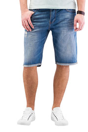 JUST RHYSE Shorts Mid Blue auf oboy.de