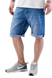 JUST RHYSE Shorts Light Blue auf oboy.de