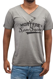 JUST RHYSE Monterey T-Shirt Grey auf oboy.de
