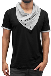 JUST RHYSE Alfie T-Shirt Black auf oboy.de