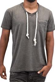 JUST RHYSE Dusan T-Shirt Grey auf oboy.de