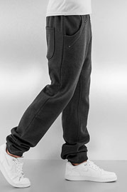 JUST RHYSE Rasco 2.0 Zip Sweatpants Anthracite Mela auf oboy.de