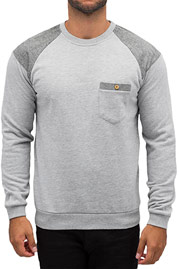 JUST RHYSE Pullover Light Grey Mel auf oboy.de