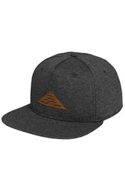 JUST RHYSE Wave Snapback Cap Dark Grey auf oboy.de