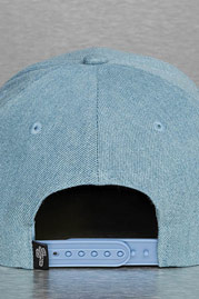 JUST RHYSE Two Tone Snapback Cap Blue auf oboy.de