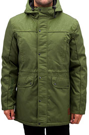 JUST RHYSE Winter Parka Olive auf oboy.de
