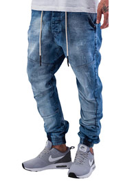 JUST RHYSE Eritrea Antifit Jeans Light Blue auf oboy.de