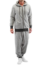 JUST RHYSE Holm Sweat Suit Dark Grey auf oboy.de