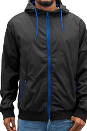 JUST RHYSE Basic Jacket Black auf oboy.de