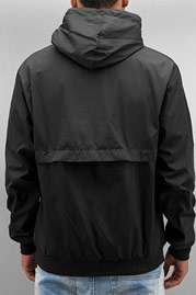 JUST RHYSE Basic Windbreaker Black auf oboy.de
