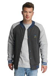 JUST RHYSE Clearlake College Jacket Anthracite auf oboy.de