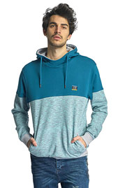 JUST RHYSE Tidewater Hoody Turquoise auf oboy.de