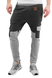 JUST RHYSE Longview Sweat Pants Anthracite/Grey auf oboy.de