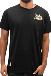 JUST RHYSE Pocketfriend T-Shirt Black auf oboy.de
