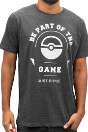 JUST RHYSE Trainer T-Shirt Anthracite auf oboy.de