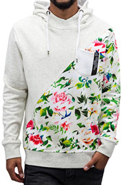 JUST RHYSE Sunny Boy Hoody Off White/Colored auf oboy.de