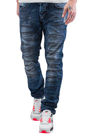 JUST RHYSE Skinny Fit Jeans Blue auf oboy.de
