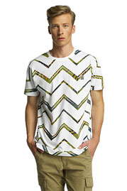 JUST RHYSE Clear Creek T-Shirt White auf oboy.de
