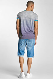 JUST RHYSE Dakar Jeans Shorts Light Blue Denim auf oboy.de