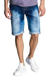 JUST RHYSE Dakar Jeans Shorts Dark Blue auf oboy.de