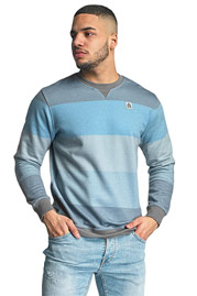 JUST RHYSE Seaside Sweatshirt Blue Grey auf oboy.de
