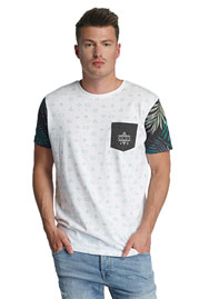 JUST RHYSE Lake Davi's T-Shirt White auf oboy.de