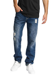 JUST RHYSE Straight Fit Jeans Blue auf oboy.de