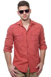 EXUMA Langarmhemd slim fit