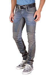 KINGZ Stretchjeans slim fit