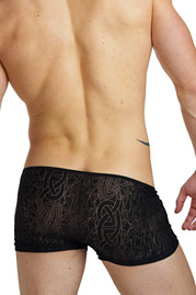 L´HOMME INVISIBLE DEVORE NOIR Pants auf oboy.de