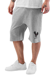 WHO SHOT YA  Shorts Grey Melange auf oboy.de