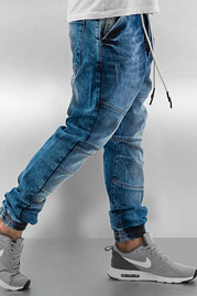 WHO SHOT YA  Antifit Jeans Blue auf oboy.de