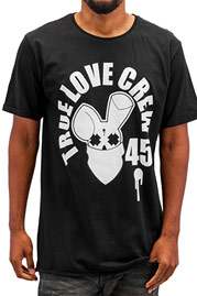 WHO SHOT YA  True Love Crew 45 T-Shirt Black auf oboy.de