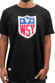 WHO SHOT YA  Collegebro T-Shirt Black auf oboy.de