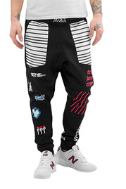 WHO SHOT YA  Shadywho Sweatpants Black auf oboy.de