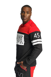 WHO SHOT YA  45shots Sweatshirt Black/Red auf oboy.de