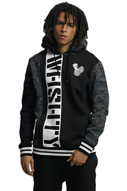 WHO SHOT YA  DarkCamou Hoody Black auf oboy.de